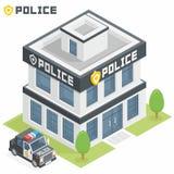 Departamentu Policji budynek Zdjęcia Stock