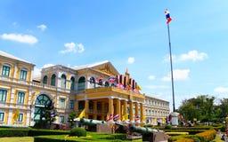 Departement av försvar, Bangkok, Thailand. Arkivbild