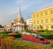 Departement av försvar som bygger Bangkok och museet Royaltyfri Fotografi