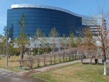 Departement av finans i Astana Royaltyfria Foton