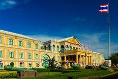 Departement av försvar Buillding, Bangkok i Thailand Arkivfoton