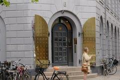 DEPARTEMENT FÖR HÄLSA OCH PENSIONÄRER Royaltyfri Foto
