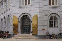 DEPARTEMENT FÖR HÄLSA OCH PENSIONÄRER Fotografering för Bildbyråer