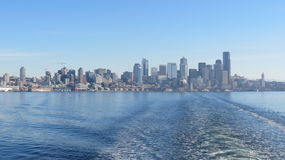 Departing Seattle Stock Photo