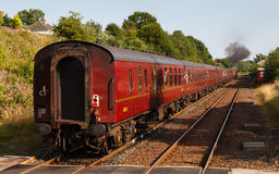 Departing Steam Train Stock Photography