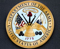 Department of the Army USA Royalty Free Stock Photos