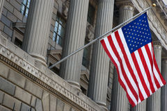 Department of Commerce Flag Royalty Free Stock Photography