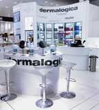 Department of Cosmetology n Ahlens supermarket Stock Photography