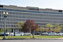 Department of Education in Washington DC stock photos