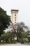 Department of Electronics & Communication Engineering, IIT Roorkee. ROORKEE, INDIA - JULY 03: Tall Tower of the Department of Electronics and Communications Stock Image