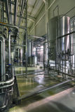 Department filtering. Brewing production - department filtering, the interior of the brewery, nobody Stock Photography