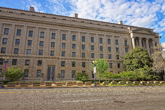 Department of Justice building in Washington DC USA Royalty Free Stock Image