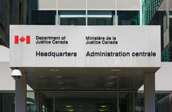 Department of Justice Canada Headquarters Royalty Free Stock Image