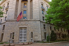 Department of Justice entrance in Washington DC Royalty Free Stock Photography