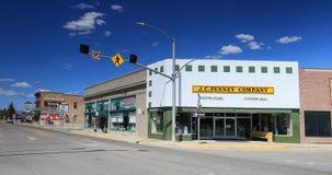 Department original store J C Penney Kemmerer Wyoming traffic 4K