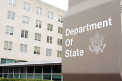 Department of state board Royalty Free Stock Images
