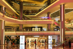 The department store in chengdu,china Royalty Free Stock Photography