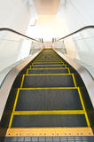 The department store escalator Royalty Free Stock Photography