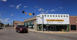 Department store J C Penney original Kemmerer Wyoming 4K