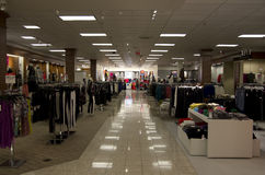 Department store lighting Royalty Free Stock Photography