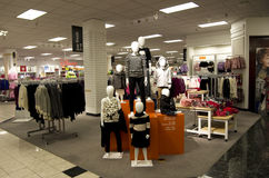 Department store Stock Image