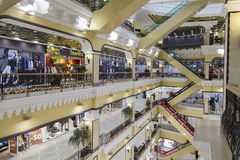 Department store in yekaterinburg,russian federation. Department store is taken in yekaterinburg,russian federation Royalty Free Stock Photography