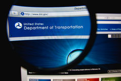 Department of Transportation Stock Image
