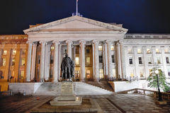 Department of the Treasury - Washington D.C., USA Royalty Free Stock Photo