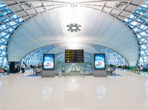 Departure area of the Bangkok airport Stock Photography