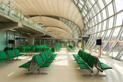 Departure area international Airport Royalty Free Stock Image