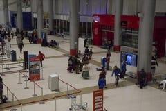 Departure area of La Paz El Alto Airport, Bolivia Royalty Free Stock Photography