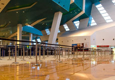 Departure Area of Marina Bay Cruise Centre, Singapore Royalty Free Stock Photography