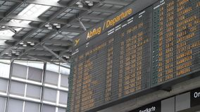 Departure Board Stock Photography