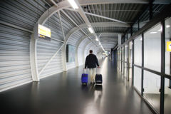 Departure corridor Stock Photography