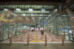 Departure entrance at Suvarnabhumi Royalty Free Stock Photography