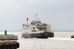 Departure of ferry Royalty Free Stock Photography