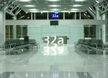 Departure Gate Royalty Free Stock Image