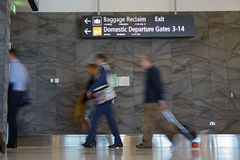 Departure gate Stock Images