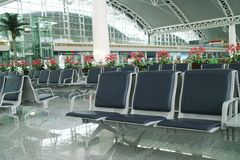 Departure hall Royalty Free Stock Photos