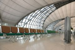 Departure hall Royalty Free Stock Photography