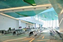 Departure hall of Marina Bay Cruise Center Royalty Free Stock Photos