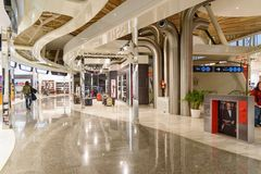 Departure hall of Menara Airport in Marrakesh. Morocco Stock Photography