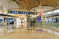 Departure hall of Menara Airport in Marrakesh. Morocco Royalty Free Stock Images
