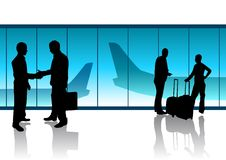 Departure Lounge Stock Photography