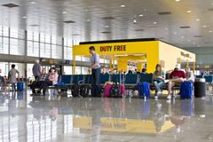 Departure lounge Stock Image