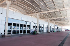 Departure lounge at airport in Antalya, Turkey Royalty Free Stock Photos