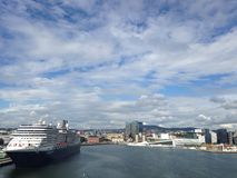 Departure from Oslo port Royalty Free Stock Image
