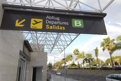 Departure Terminal Stock Image