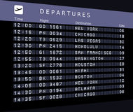 Departures Stock Images