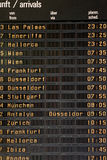 Departures/Arrivals Stock Image